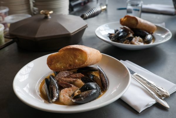 FINEX x Olympia Provisions Recipe - Shrimp & Mussel Stew with Chorizo Navarre