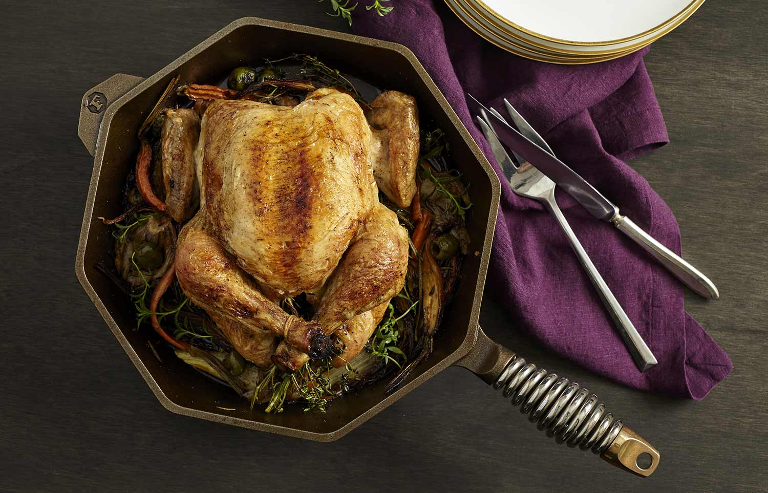 FINEX baked whole chicken recipe